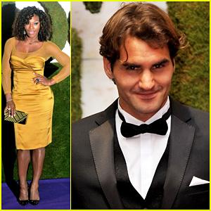 Serena Williams & Roger Federer: Wimbledon Ball 2012