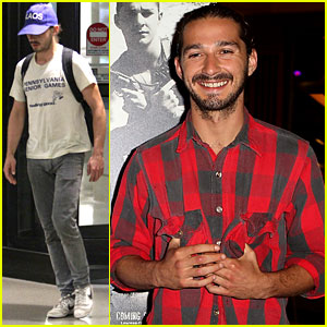 Shia LaBeouf Talks Getting Into Shape for 'Lawless'