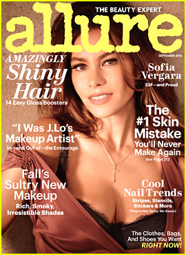 Sofia Vergara Reveals Bra Size in 'Allure' September 2012