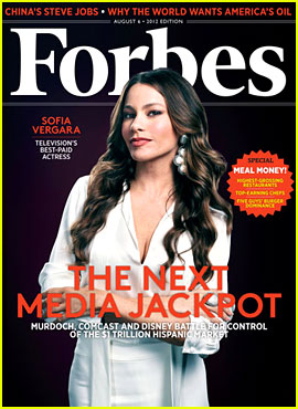 Sofia Vergara Covers 'Forbes' as Top-Earning TV Actress!
