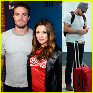 Stephen Amell: Back in Vancouver After Comic-Con!