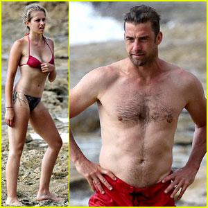 Teresa Palmer & Scott Speedman: Hawaiian Beach Babes!