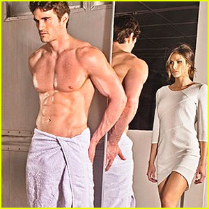Thom Evans: Christian Grey in '50 Shades of Grey' Themed Ad