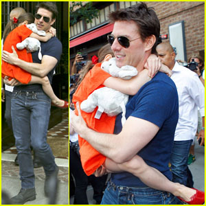Tom Cruise & Suri: Daddy Daughter Day!