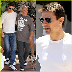 Tom Cruise: Taverna Tony Lunch with Ron Meyer!