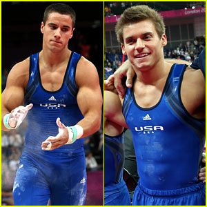 U.S. Men's Gymnastics Team Leads at London Olympics! | 2012 Summer ...