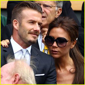 David & Victoria Beckham: Wimbledon Royal Box Couple!