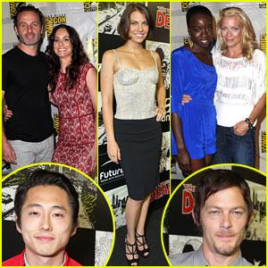 'Walking Dead' Cast Reveal Inside Scoop at Comic-Con!