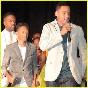 Will Smith & Jaden: Party 4 Peace Celebrity Weekend!