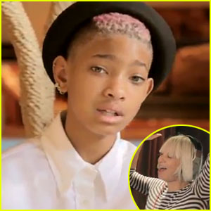 Willow Smith + Sia Writing Session - JustJared.com Exclusive!