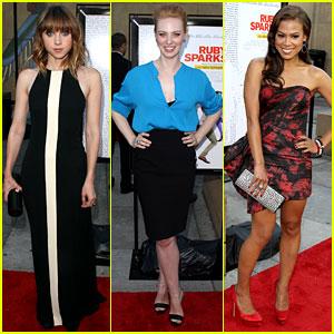 Zoe Kazan & Deborah Ann Woll: 'Ruby Sparks' Premiere!