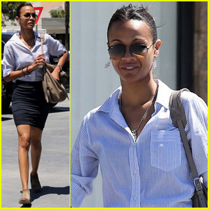 Zoe Saldana: 'Something Special' Coming This Fall!