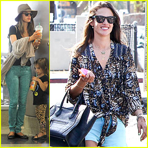 Alessandra Ambrosio: Gjelina Lunch with Jamie Mazur!