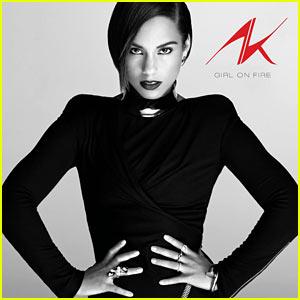 Alicia Keys: 'Girl on Fire' Album Cover Art!
