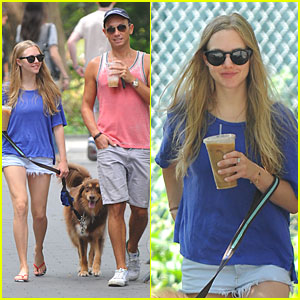 Amanda Seyfried: Daisy Dukes with Finn!
