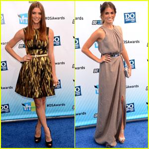 Ashley Greene & Nikki Reed - Do Something Awards 2012