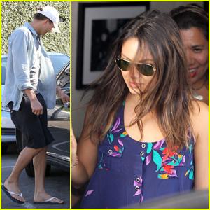 Ashton Kutcher & Mila Kunis: Casa Vega Couple!