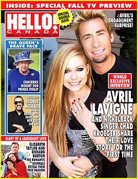 Avril Lavigne: Engagement Ring Picture!