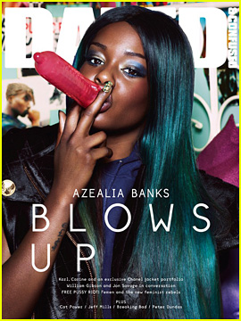 Azealia Banks Covers 'Dazed & Confused' September 2012!