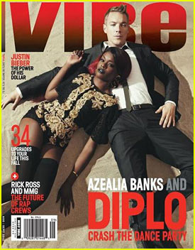 Azealia Banks: 'Vibe' Cover with Diplo!