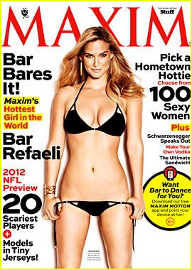 Bar Refaeli: Bikini Babe in 'Maxim' September 2012!
