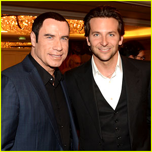 Bradley Cooper & John Travolta: HFPA Installation Luncheon!