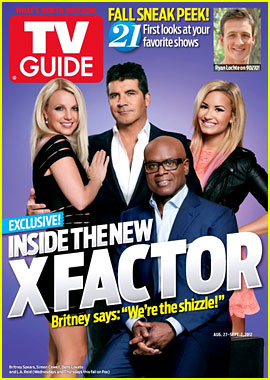 Britney Spears & 'X Factor' Judges Cover 'TV Guide' Magazine