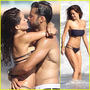 Brooke Burke & David Charvet: Malibu Beach Lovers!