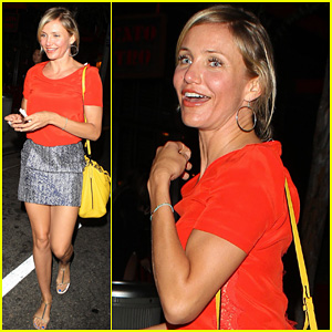 Cameron Diaz: Working on a Fitness Book!