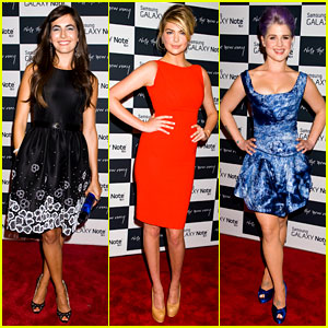 Camilla Belle & Kate Upton: Samsung Galaxy Note Launch!