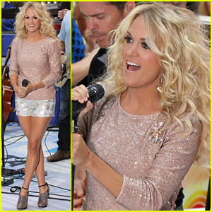 Carrie Underwood: 'Good Girl' on 'Today' Show!