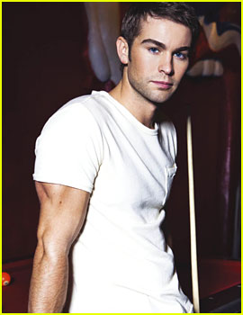 Chace Crawford: Buff Biceps for 'August Man' - Exclusive!