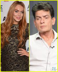 Lindsay Lohan & Charlie Sheen Team Up!