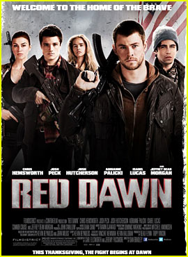 Chris Hemsworth: 'Red Dawn' Trailer & Poster!