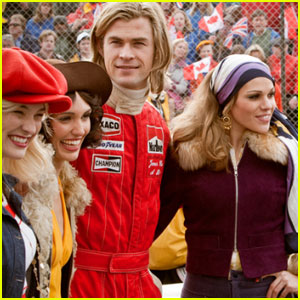 Chris Hemsworth in 'Rush' - First Look!