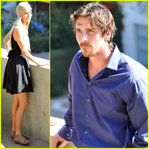Christian Bale & Isabel Lucas: 'Knight' Du