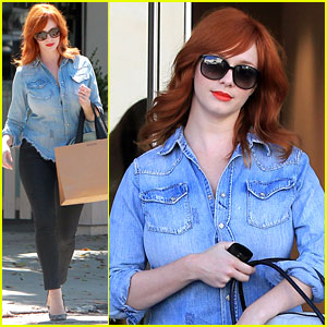 Christina Hendricks: 'I Do Not Want a Baby For Myself'