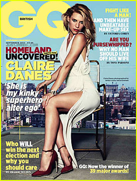 Claire Danes Covers 'GQ' UK September 2012