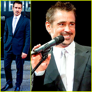 Colin Farrell: 'Total Recall' Moscow Premiere!