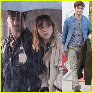 Daniel Radcliffe: 'The F Word' Begins Filming!