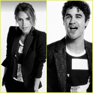 Darren Criss & Victoria Beckham: Fashion's Night Out PSA!