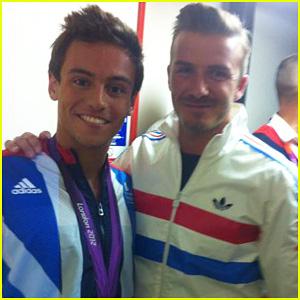 David Beckham: Olympics Celebration with Tom Daley!