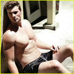Derek Theler: Shirtless 'Da Man' Magazine Feature!