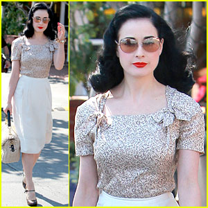 Dita Von Teese: Planning Collection Launch Event!