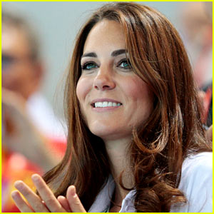 Duchess Kate Cheers On Synchronized Swimming!