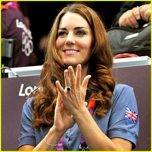 Duchess Kate: Olympic Spectator!