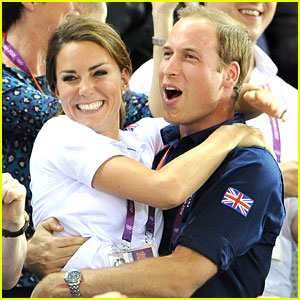 Duchess Kate & Prince William Celebrate Great Britain's Cycling Win at the Olympics!