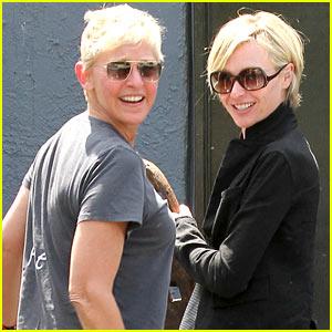 Ellen DeGeneres & Portia de Rossi: Happy Anniversary!