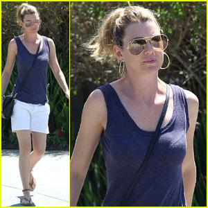 Ellen Pompeo: Sunglasses in Brentwood