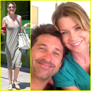 Ellen Pompeo: Juice Joint Smiles